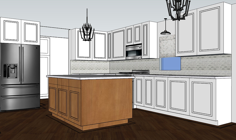 3D Plan for our new kitchen