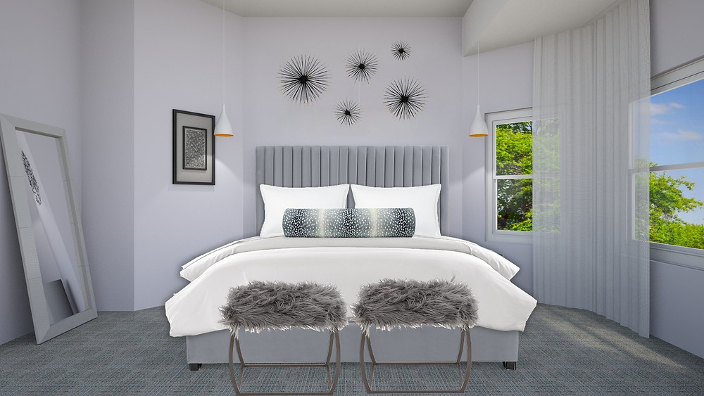 Master Bedroom eDesign Rendering