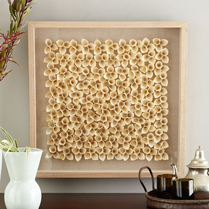 Wooden box 3D art display