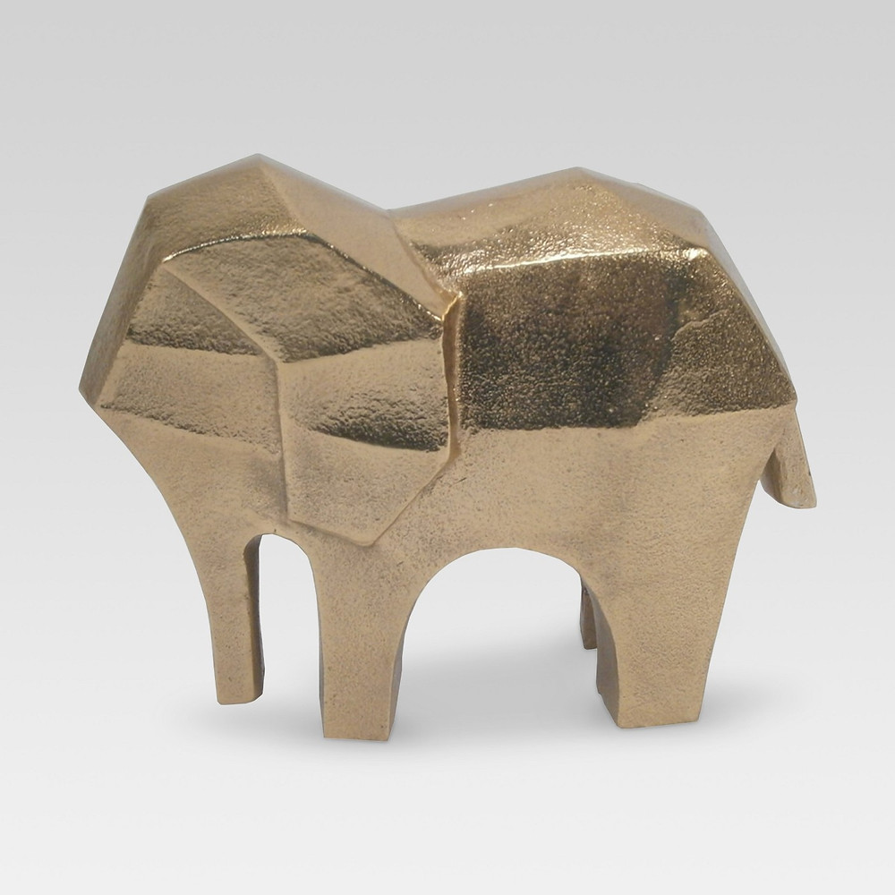 Gold decorative object - Elephant from Target