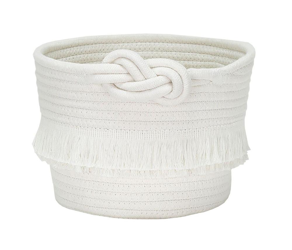 White woven basket, Target