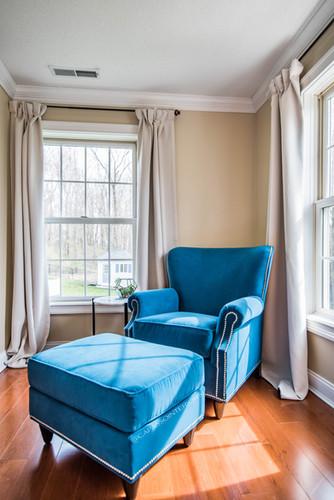 Sitting Nook in Master Bedroom