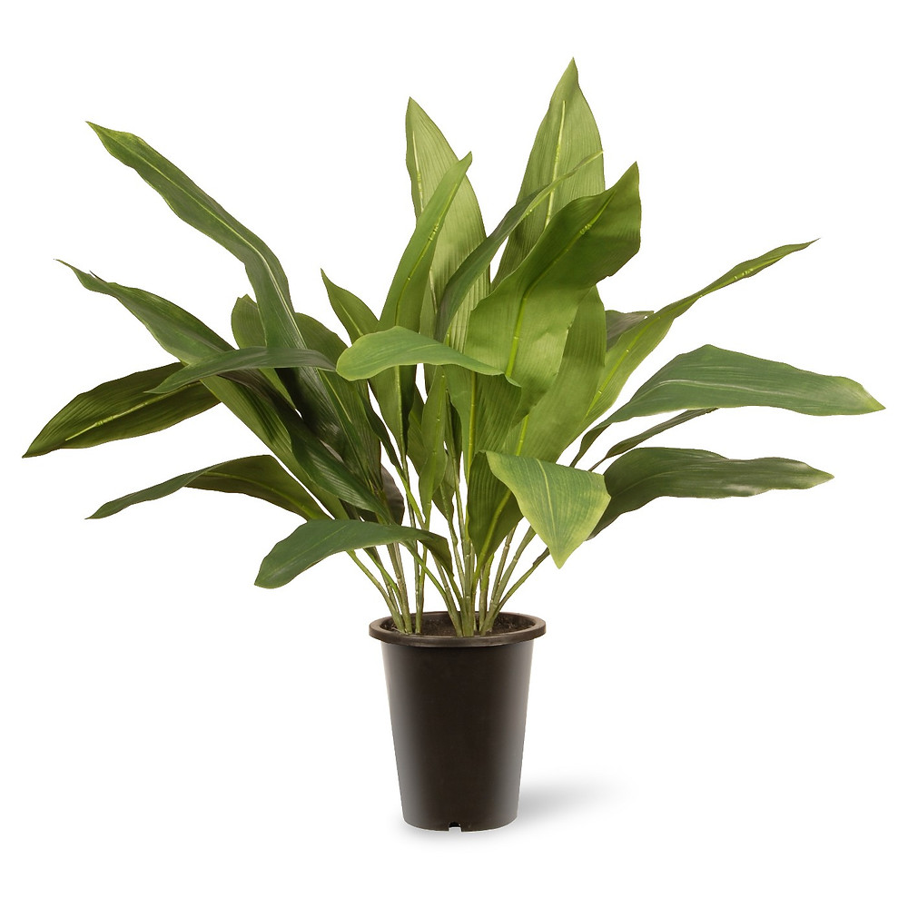 Faux tall bushy indoor plant, Target