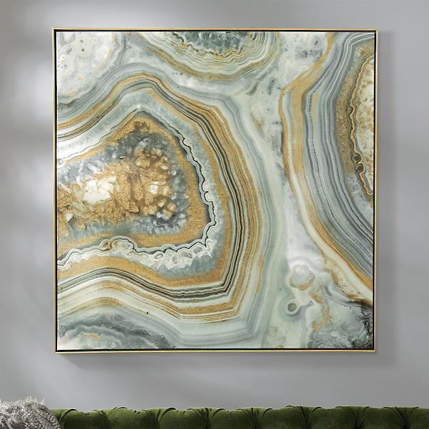 Geode Art piece