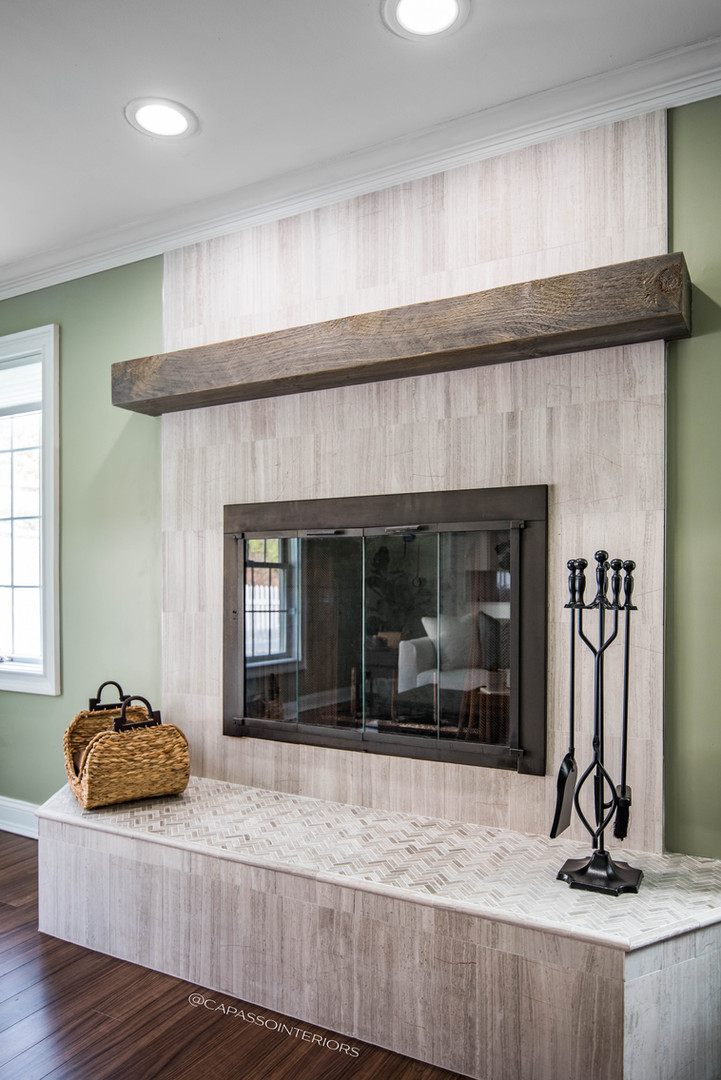 Transitional Fireplace