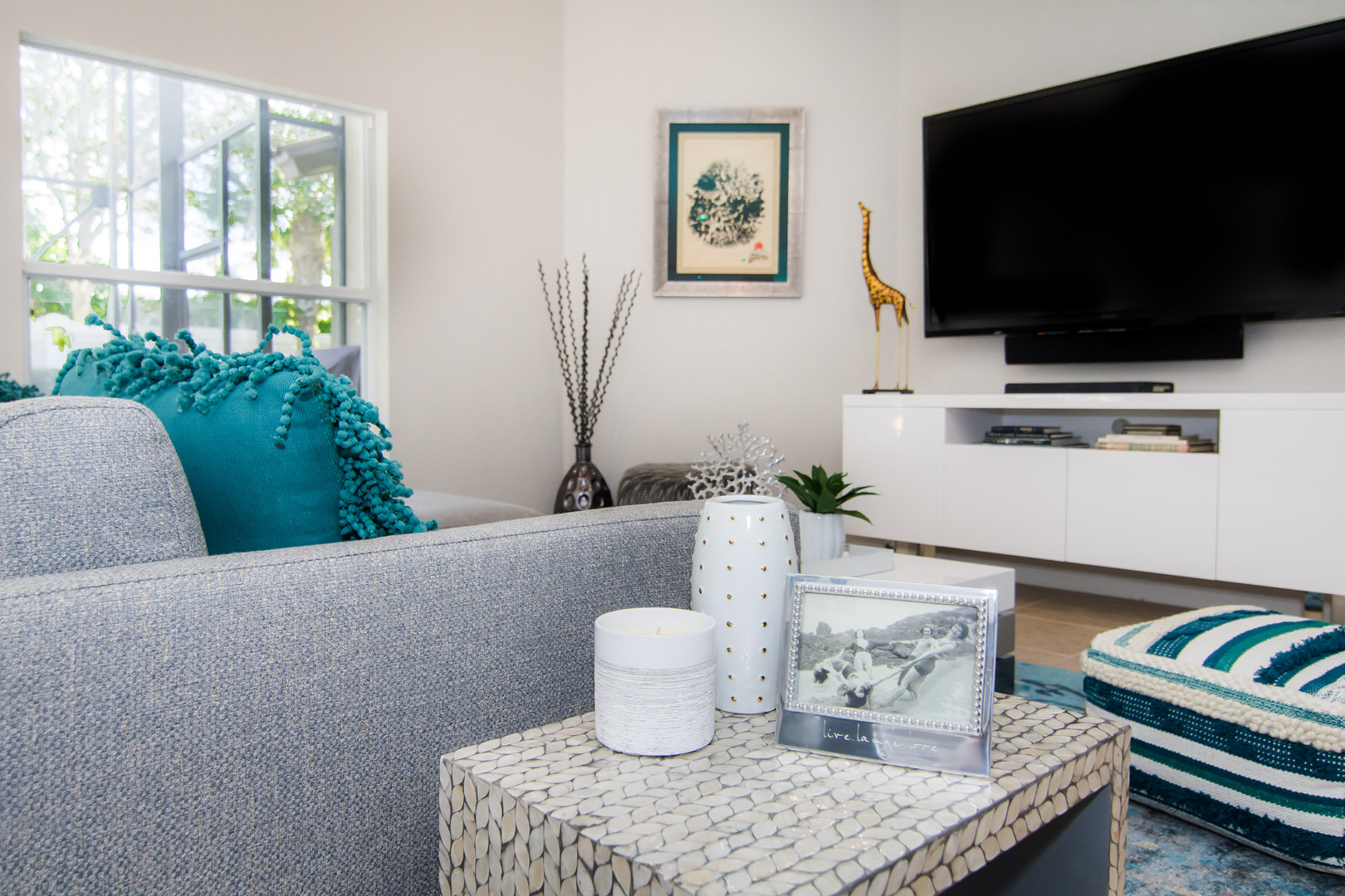 Styling and decor, end table