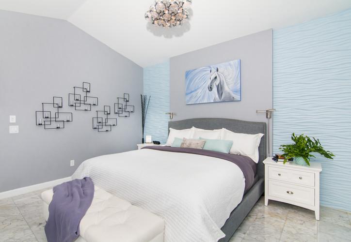 Master Bedroom clean, modern, contemporary design