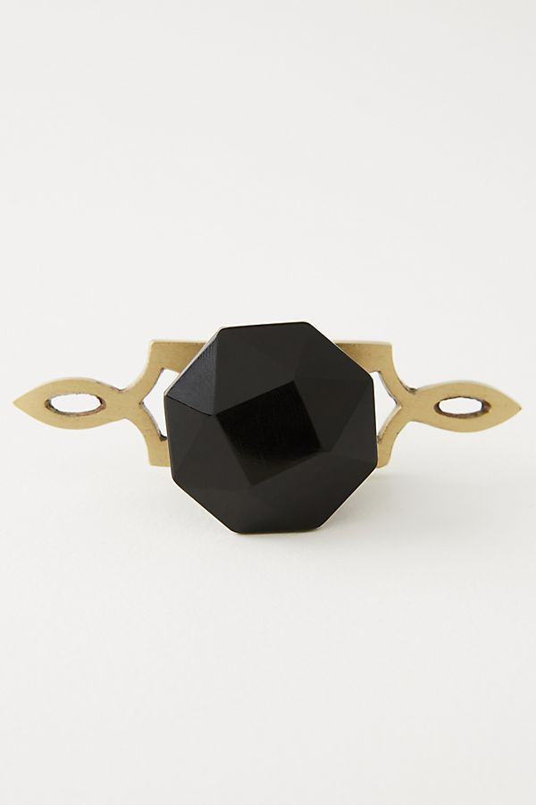 This gorgeous black and gold combo is so cool. Imagine these on a nightstand, a dresser, or even on kitchen cabinets!