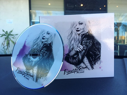 """Hand-signed """"Beautiful Storm"""" CD"""