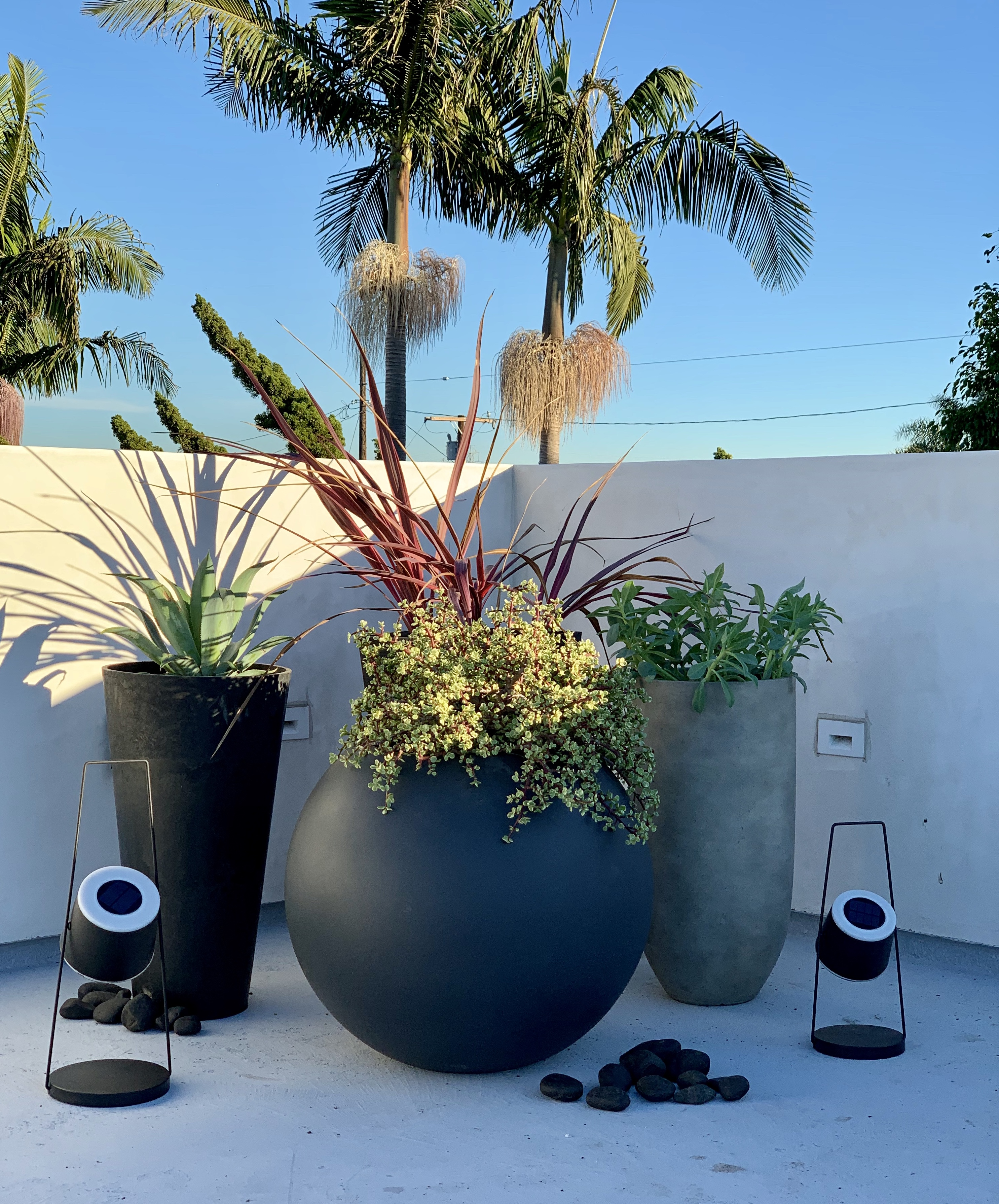 Planters on Roof Terrace, Redondo Beach