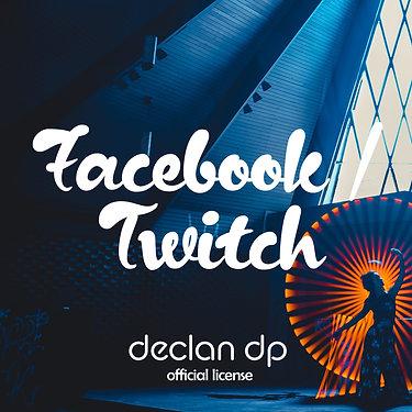Facebook/Twitch License