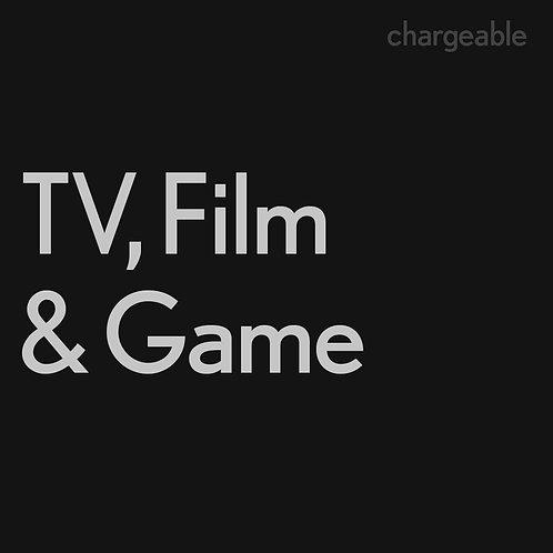 Licencia de TV, Películas o Juegos