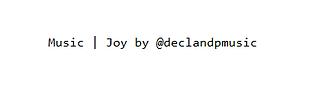 Declan DP Instagram License Example