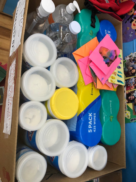 Classroom supply donation