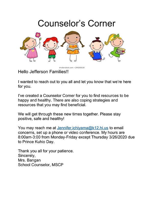 Counselor Corner Letter.jpg