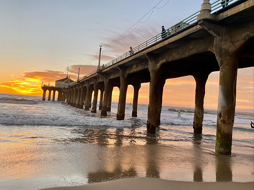 MB PIER just before SUNSET 2020