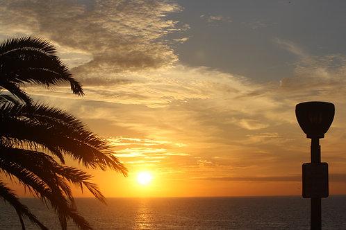30 x 40 Redondo beach Sunset, next to Pier