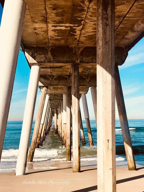 Hermosa beach Under the pier 2