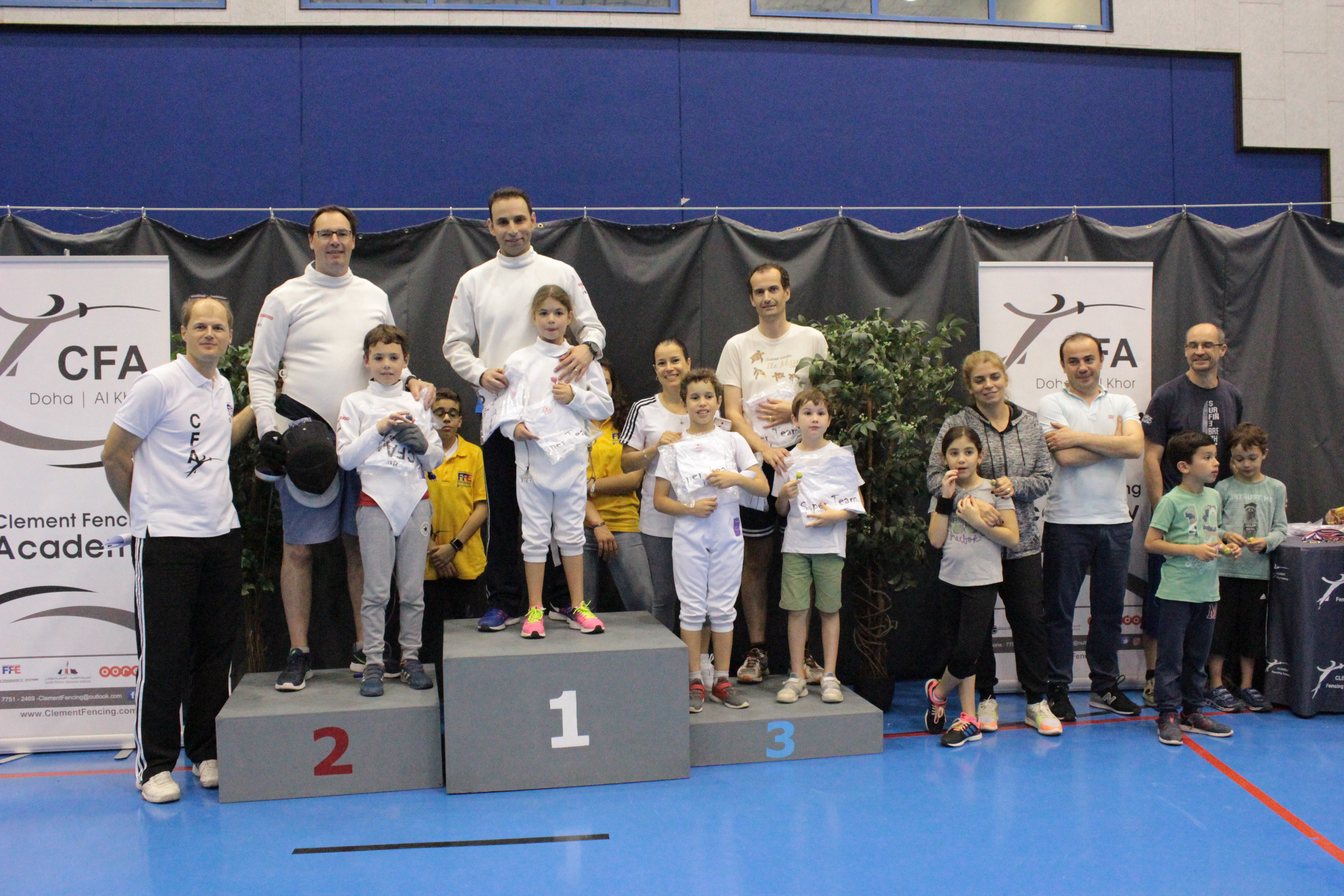clement fencing qatar