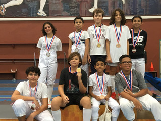 Rain of medals at first national competition of the year 2021