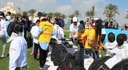 Clement fencing at qatar national sport