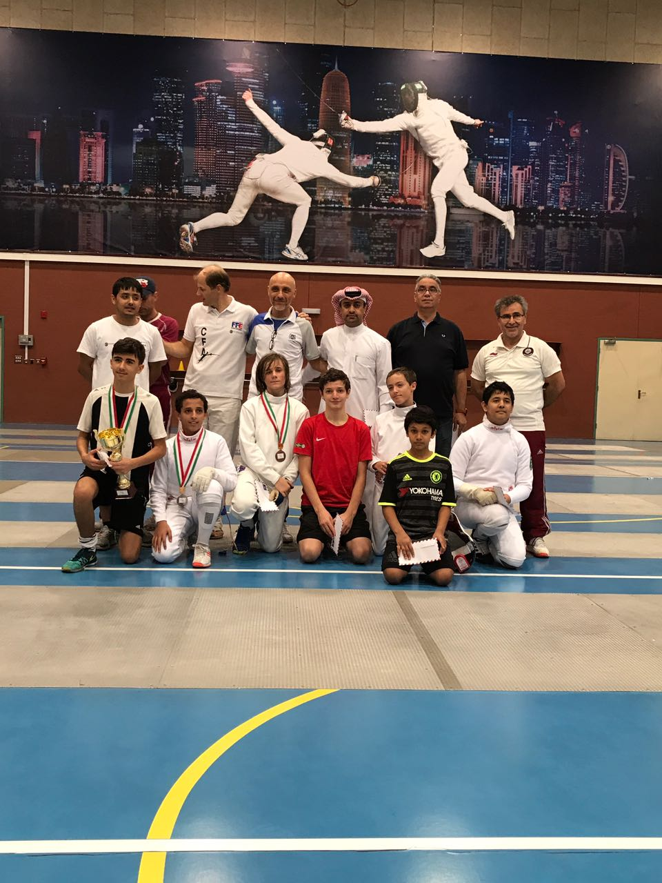 clement fencing acad