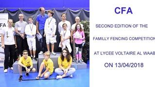 CFA team Competition PARENT-KID 2018