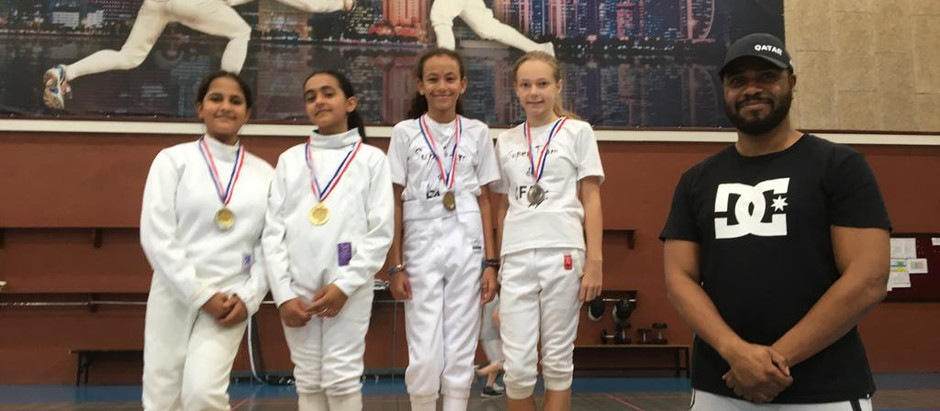 "RAIN OF MEDALS for Clement Sports ""#CFA"" Fencers at QFF First ROUND 2019\2020"