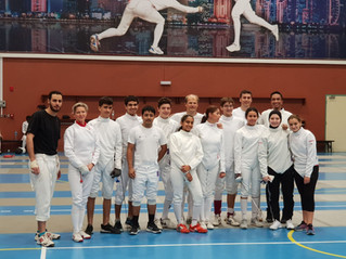 CFA Fencers won Multiple Medals at QFF Ramadan Competition