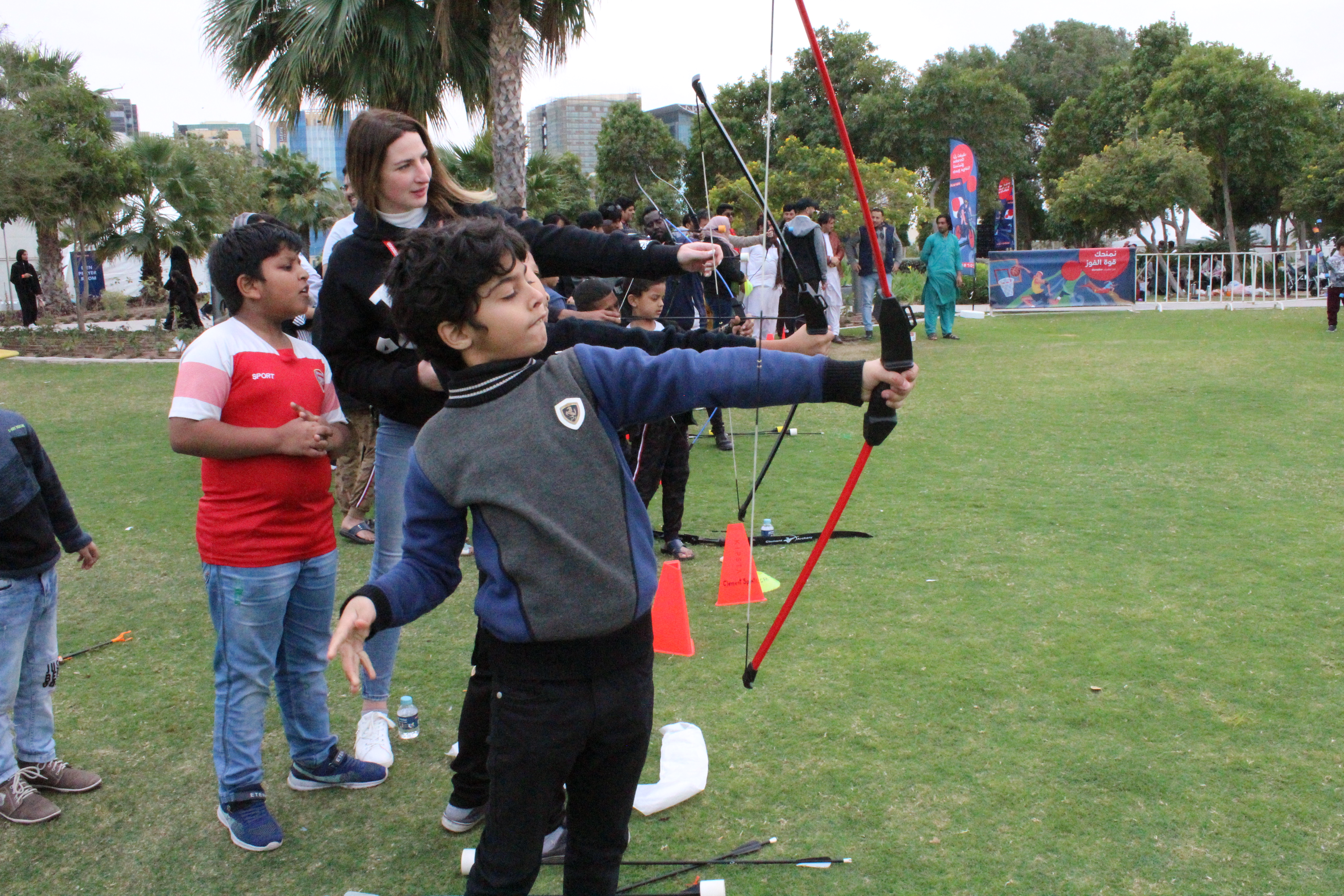 kids archery doha