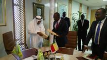 Signature d'accord de prêt entre le Benin et  la Banque Islamique de Développement (#BID)