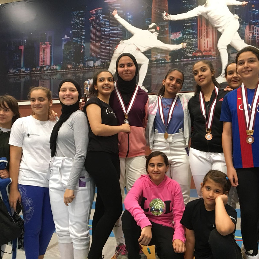 clement fencing women competition