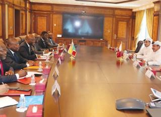 Le Ministre des affaires étrangères et de la coopération régionale et Envoyé spécial du Président au
