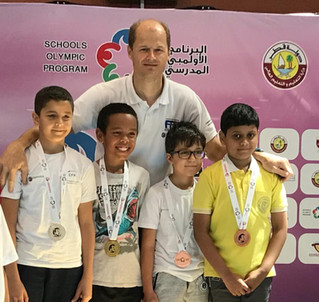 School Olympic 2018 More Medal for CFA fencers
