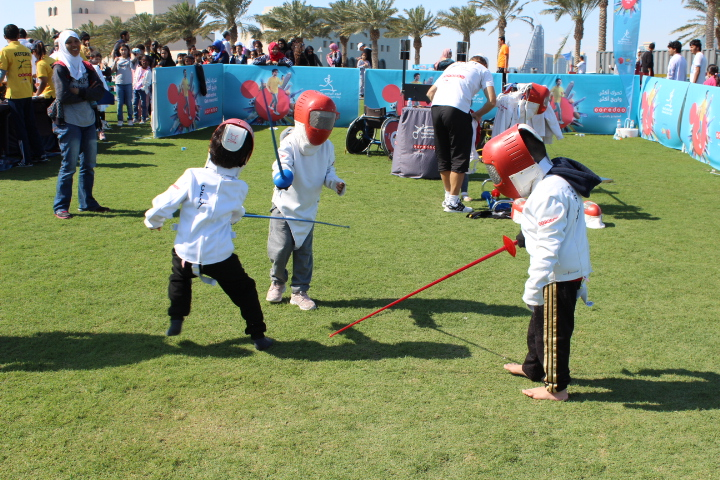 CFA at Qatar national sport day 2019