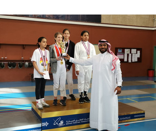 Storm of medals for CFA  at QFF U-11,13,15 Competition