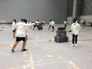 End of Cycle 5th and 3rd year of Bonaparte Physical Education / Fencing. A great success, over 200 s