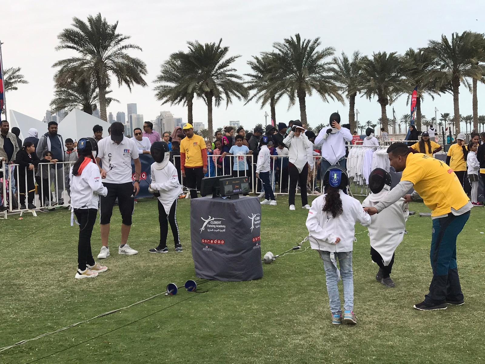 kids fencing club doha
