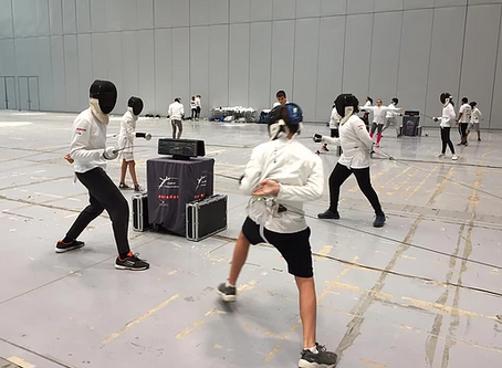 End of Cycle 5th and 3rd year of Bonaparte Physical Education / Fencing