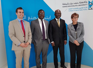 Visite de l'Ambassadeur au college of law & pubic policy de L'Universite HAMAD BIN KHALI