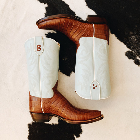 Cigar Gator Handmade Cowboy Boot