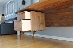 Mid Century desk drawer sides