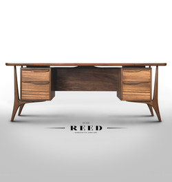 Mid Century Walnut Desk