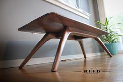 solid walnut coffee table 2