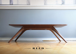 solid walnut coffee table 1