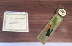 Mt Gretna award