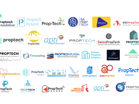 31 National PropTech networks confirm their commitment & support