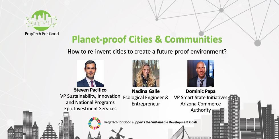 Planet-proof Cities & Communities