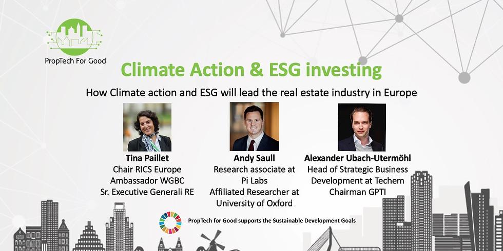 WEBINAR - Climate Action & ESG investing