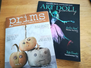 Published! Art Doll and Prims magazines